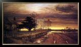 Burnished Sky Prints by Benjamin Williams Leader