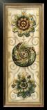 Classic Rosette Panel I Prints