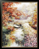 Stone Footbridge Print by Tan Chun