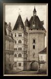 Sepia Chateaux VI Prints by Victor Petit
