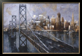 The Bay Bridge Prints by Marti Bofarull