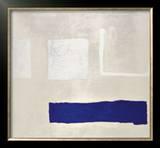 White and Blue, c.1960 Pôsteres por William Scott