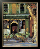 Paulette&#39;s Cafe Prints by Keith Wicks
