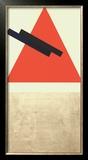 Entwurf fur Eine Festdekoration in Witebst, c.1920 Poster by Vera Jermolajeva