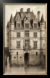 Sepia Chateaux V Print by Victor Petit