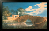 Perspective View of the Bridge with the Gateway Prints by Joseph Gandy