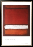 No. 7, 1960 Limited Edition Framed Print by Mark Rothko