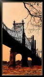 Queensboro Bridge Limited Edition Framed Print by Joan Farré