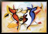 Dancing Angels Prints by Alfred Gockel