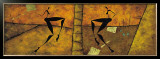 La Danse: Nritta et Nritya Posters by Roberto Fantini