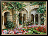 Cloister Grande Print by Roger Duvall