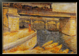 The Bridge at Asnieres Poster by Vincent van Gogh