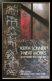 Seven Inner works at Leo Castelli, 1985 Limited Edition Framed Print by Keith Sonnier