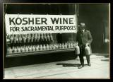 New York City, Kosher Wine Framed Giclee Print
