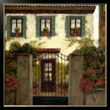 Three Windows Art by Montserrat Masdeu