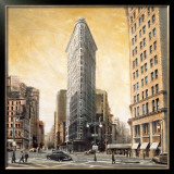 The Flatiron Building Art by Mathew Daniels