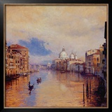 The Grand Canal Posters by Curt Walters