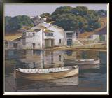 Puerto De Mahon Limited Edition Framed Print by Poch Romeu