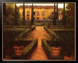 Garden Manor Prints by Montserrat Masdeu