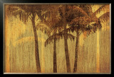 Sunset Palms III Prints by  Amori