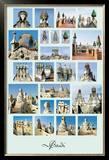 Esculturas, Barcelona Posters by Antoni Gaudí