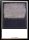 Blue & Gray, 1961 Limited Edition Framed Print by Mark Rothko