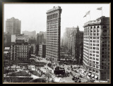 The Flatiron Building, New York City, c.1916 Prints