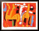 Chevaux et Cavaliers V, c.1972 Art by Marino Marini