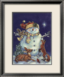 Jolly Snowman Posters par Donna Race