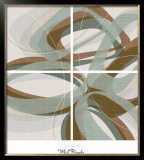 Mint Ripple Posters by  Ahava