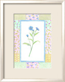 Patchwork Botanical I Posters by Aldana