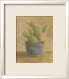 Texas Cactus Affiches par Mar Alonso