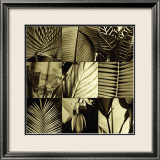 Tropical Leaves I Prints by Caroline Kelly