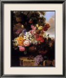 Stately Garden II Poster by John Wainwright
