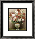 Dahlias dans Un Pot Empire Poster by Marcel Dyf