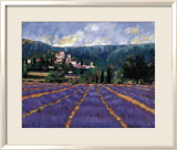 Champs de lilas Art par Paul Curtis