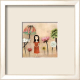 Mon Jardin Secret Print by Anne-julie Aubry