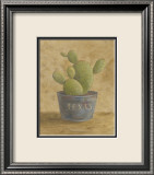Texas Cactus Affiche par Mar Alonso
