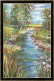 Stream Limited Edition Framed Print by Carol Rowan