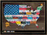 Fifty State Flag Posters by Aaron Foster