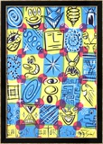 Faces, 1998 Prints by Kenny Scharf