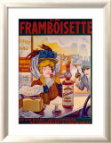 La Framboisette Framed Giclee Print by Francisco Tamagno