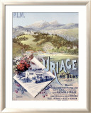 Uriage les Bains Framed Giclee Print by Hugo D&#39;Alesi