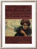 VIieme Exposition Internationalle d'Art de la Ville de Venise Framed Giclee Print by Ettore Tito
