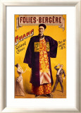 Folies Bergeres, Chinese Giant Framed Giclee Print by Jacobi