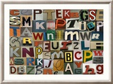 Type Prints by Sharon Elphick