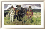 Bogatiri Poster von Victor Mikhailovich Vasnetsov