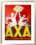 AXA Margerine Gerahmter Gicl&#233;e-Druck