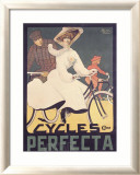 Cycles Perfecta Framed Giclee Print by Butteri 