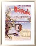 Bordeaux Framed Giclee Print by Hugo D&#39;Alesi